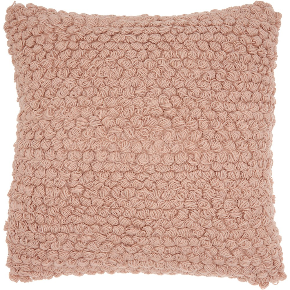 Thin Group Loops Oversize Square Throw Pillow Blush - Mina Victory