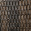 Thira 2pk Wicker Chaise Lounge Brown - Christopher Knight Home - image 3 of 4