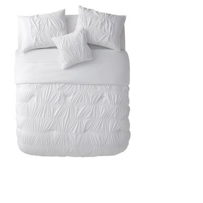 White Monica Comforter Set (Queen)- VCNY®