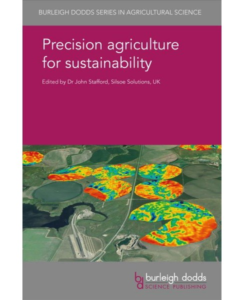 Precision Agriculture for Sustainability -  (Hardcover) - image 1 of 1