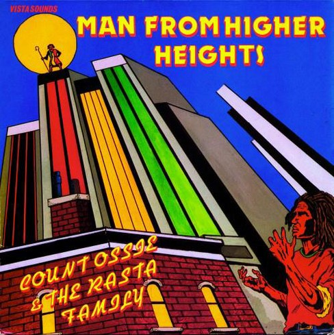 Count ossie & the ra - Man from higher heights (CD) - image 1 of 1