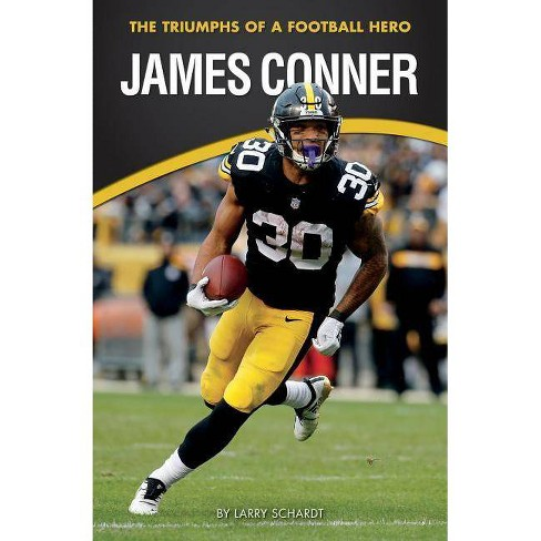 James Conner - (Amazing Sports Biographies) by  Larry Schardt (Paperback) - image 1 of 1