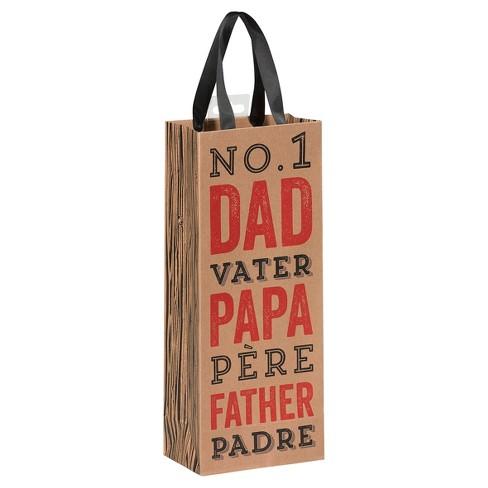 Le Supply Co No 1 Dad Wine Gift Bag