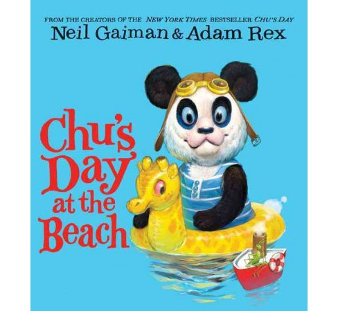 Chu's Day at the Beach (Hardcover) (Neil Gaiman) - image 1 of 1