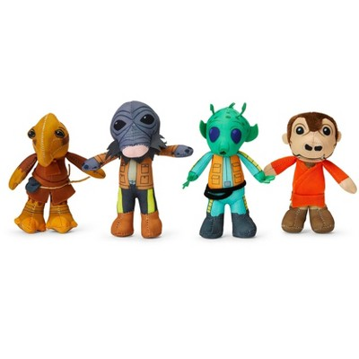 Seven20 Star Wars Exclusive Mini Plushies - Mos Eisley's Cantina Villains - 4 Pack