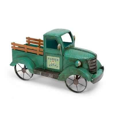 "GIL 18.9""L Metal Antique Garden Truck"