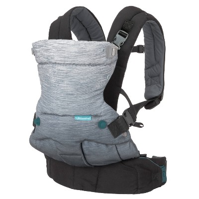 Infantino Go Forward 4-In-1 Evolved Ergonomic Carrier - Gray