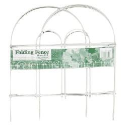 "18"" x 10' Steel Folding Wire Border Fence - Glamos"