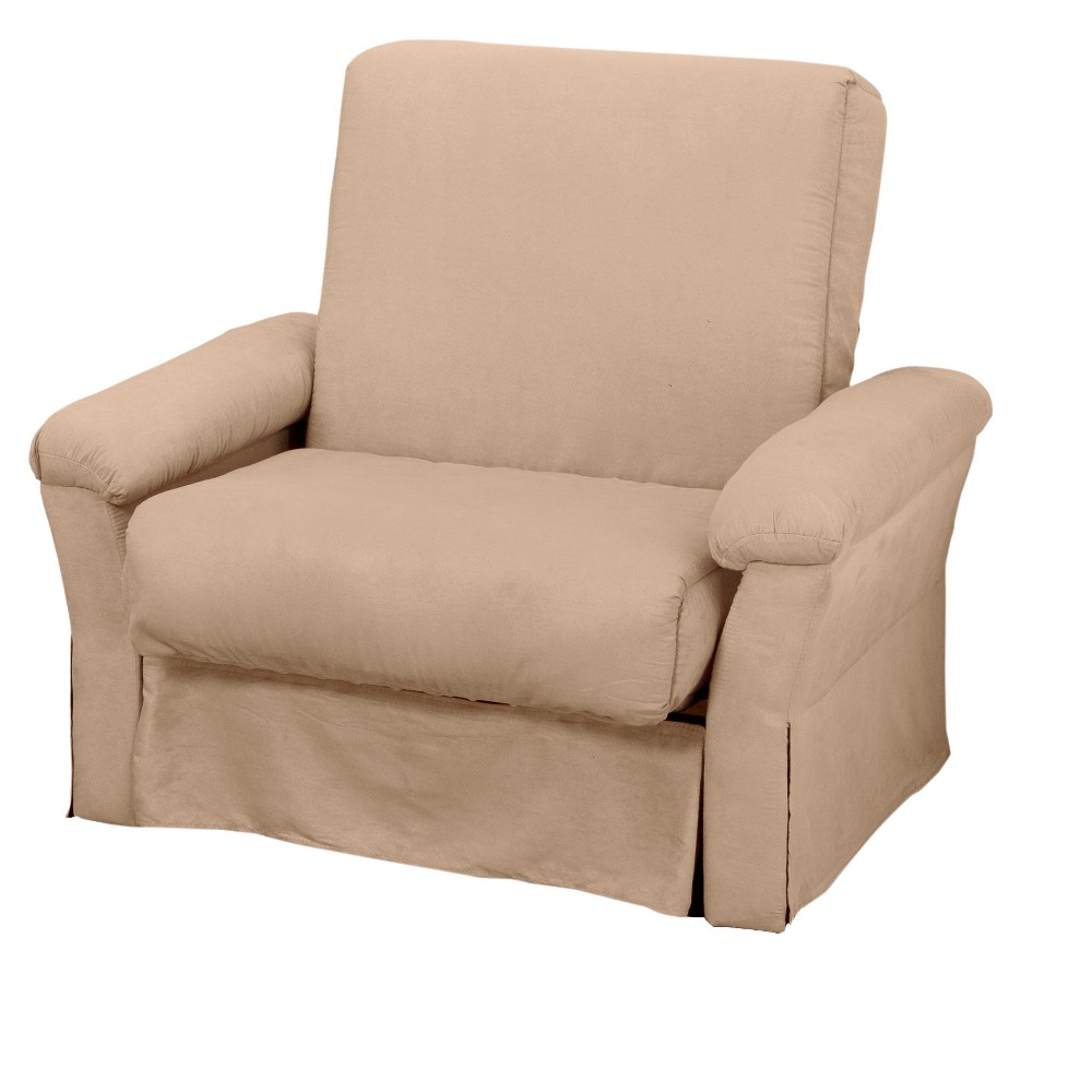 Nirvanna Perfect Futon Sofa Sleeper Chair Size Khaki (Green) - Epic Furnishings