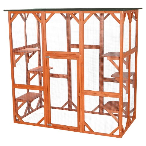 Trixie Pet Products Wooden Outdoor Cat Sanctuary - image 1 of 1