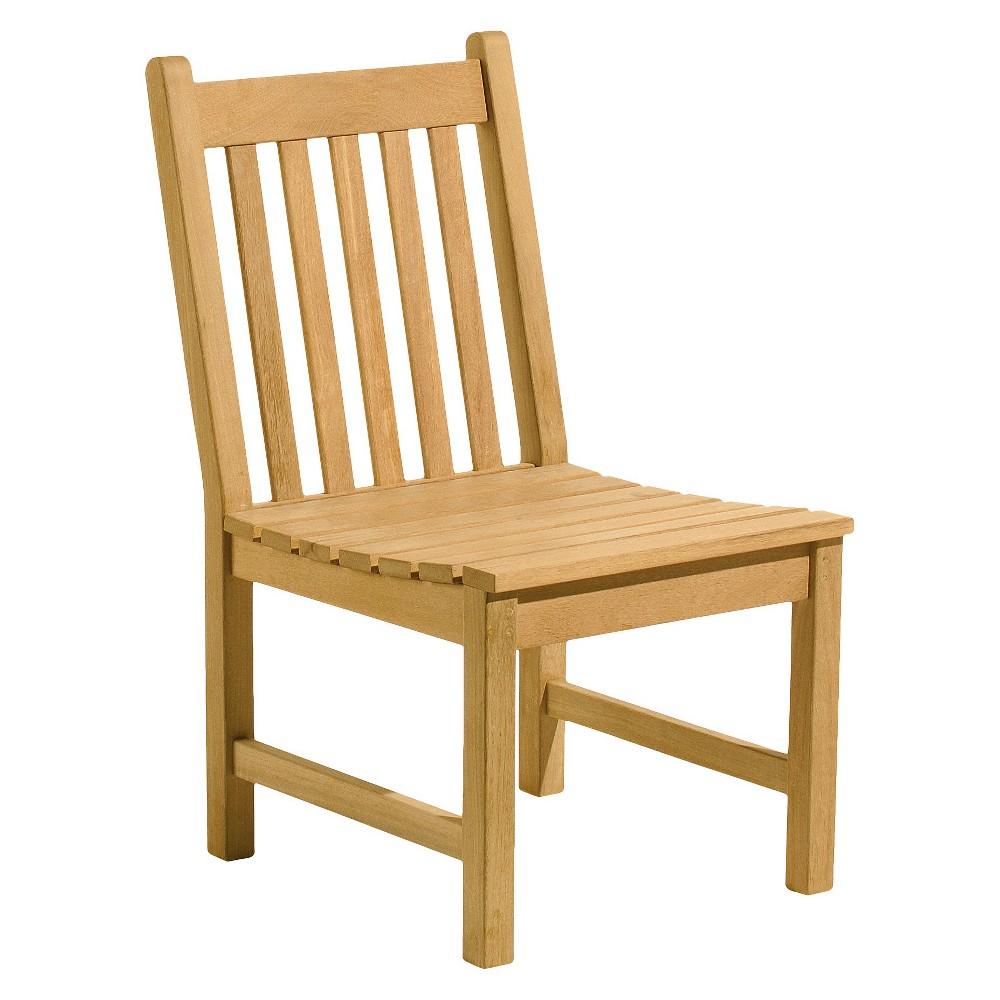 Oxford Garden Classic Side Chair - Natural Shorea