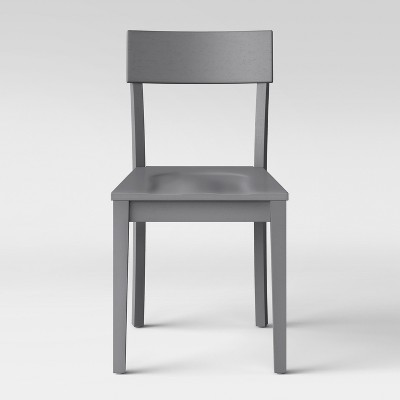 Bethesda Modern Dining Chair Gray (Set of 2)- Project 62™