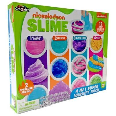 Nickelodeon 4-in-1 Super Variety Slime Pack