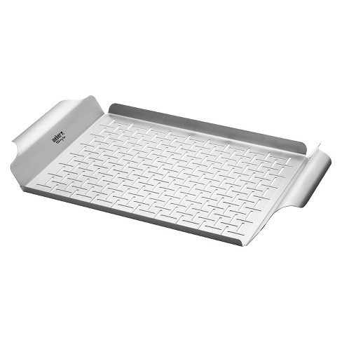 Weber® Stainless Steel Grill Pan - image 1 of 2
