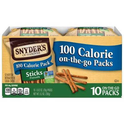 Snyder's Of Hanover 100 Calorie Pretzels Packs - Sticks 10pk
