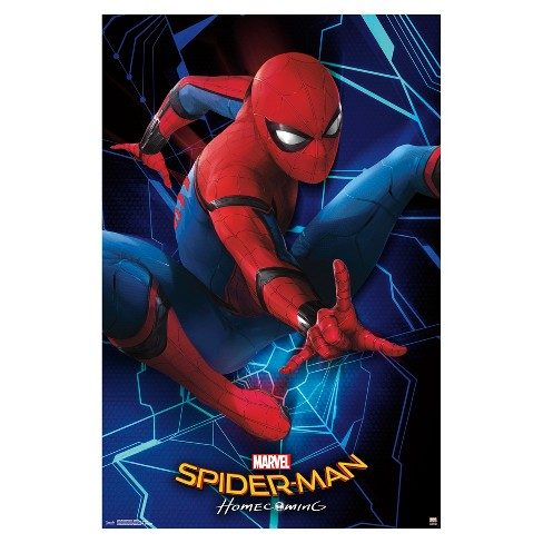 Spider-Man: Homecoming Spidey Poster 34x22 - Trends International