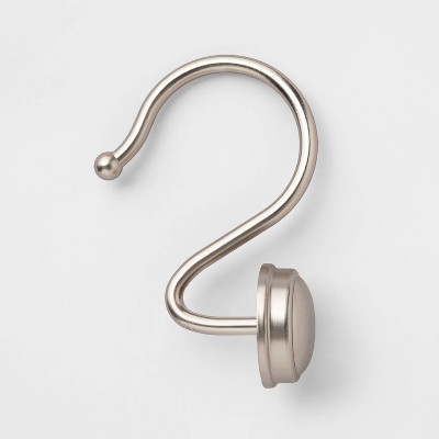 Rust Proof Button Shower Hook - Threshold™