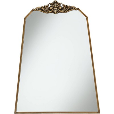 """Noble Park Morrey 25 3/4"""" x 34 1/4"""" Crown Top Angled Wall Mirror"""