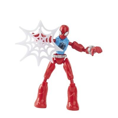 Marvel Spider-Man Bend and Flex Scarlet Spider Action Figure