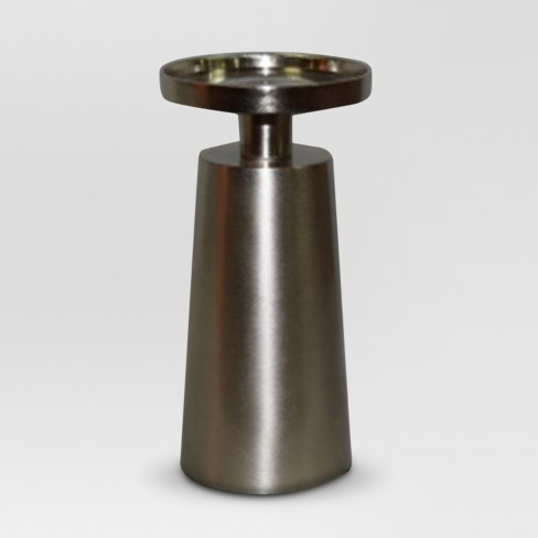 Pillar Candle Holder Silver - Project 62™ - image 1 of 1