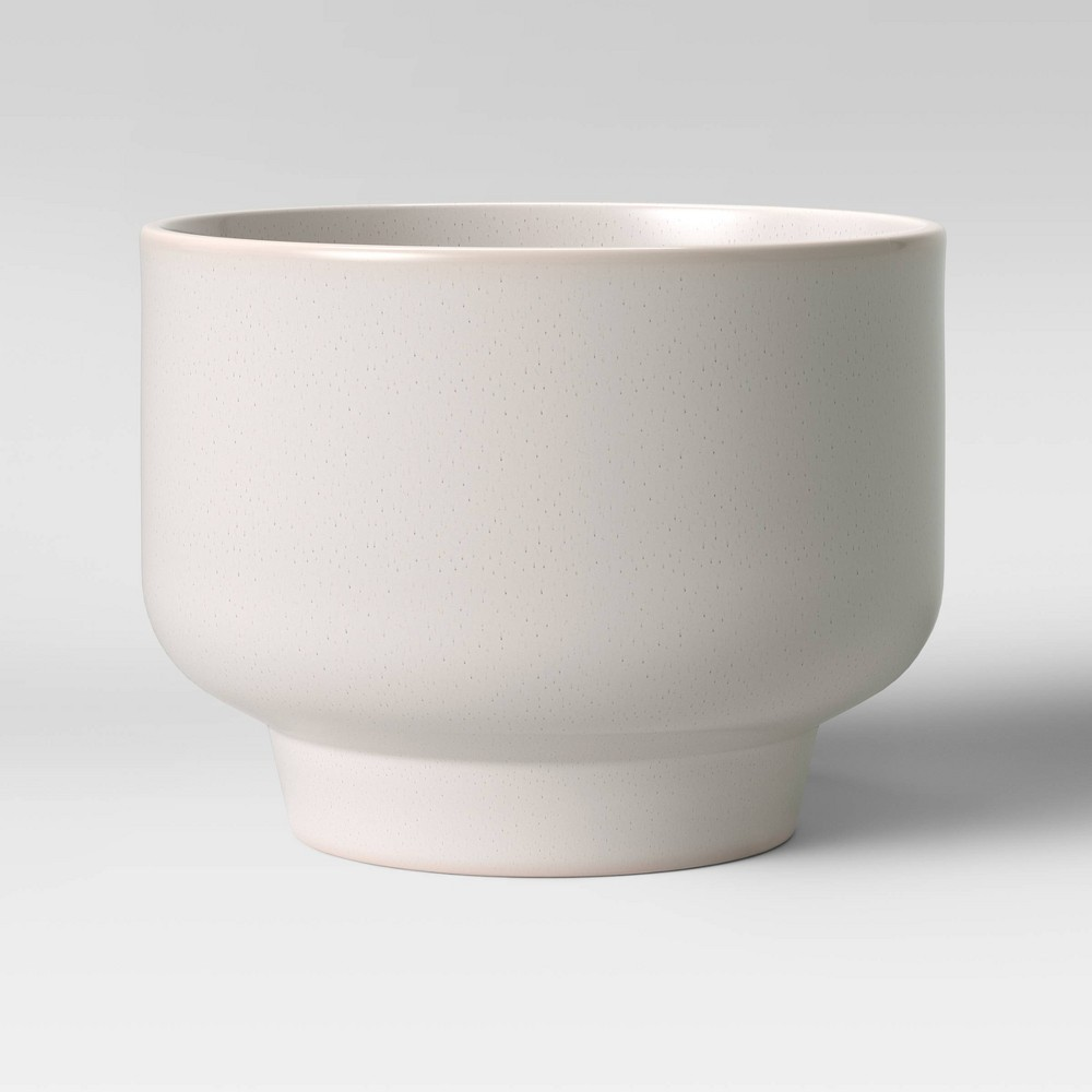 """Image of """"10"""""""" Ceramic Footed Planter White - Project 62"""""""