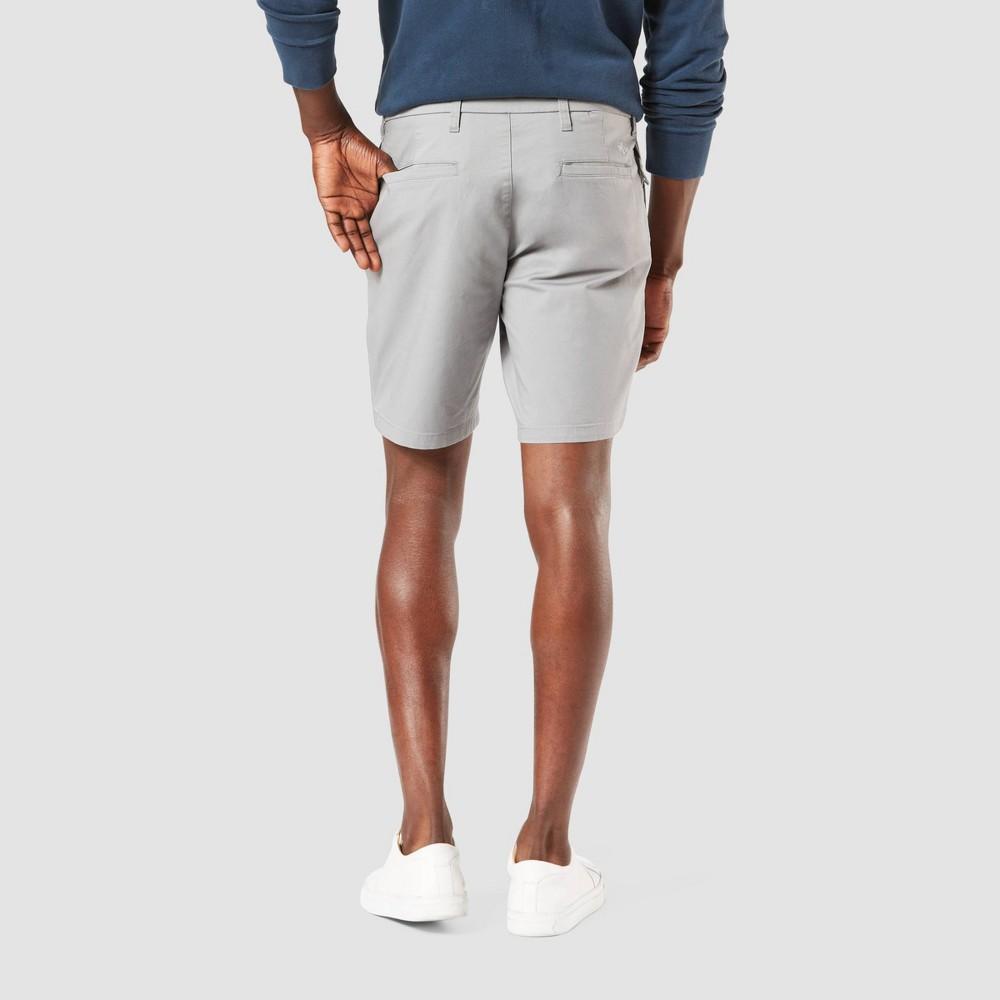 Dockers Men 39 S 9 34 Chino Shorts Gray 34