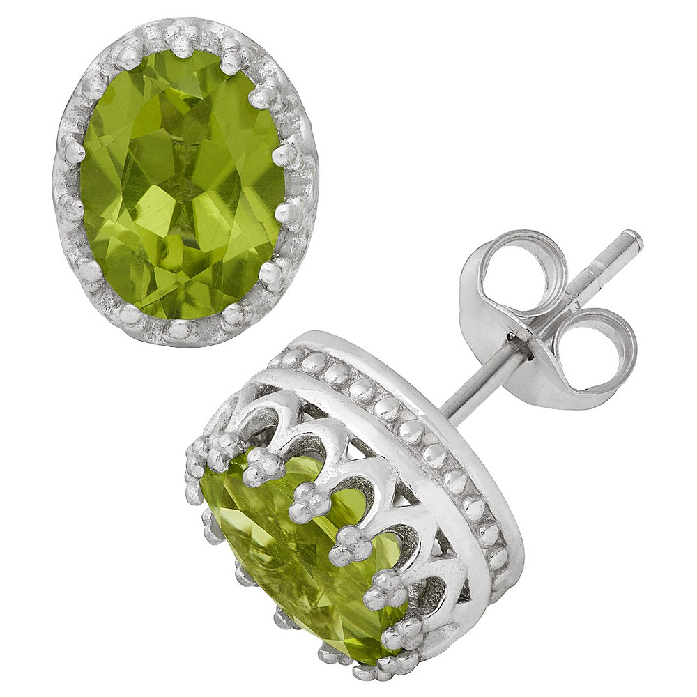 Fine Jewelry Earring Green, Peridot
