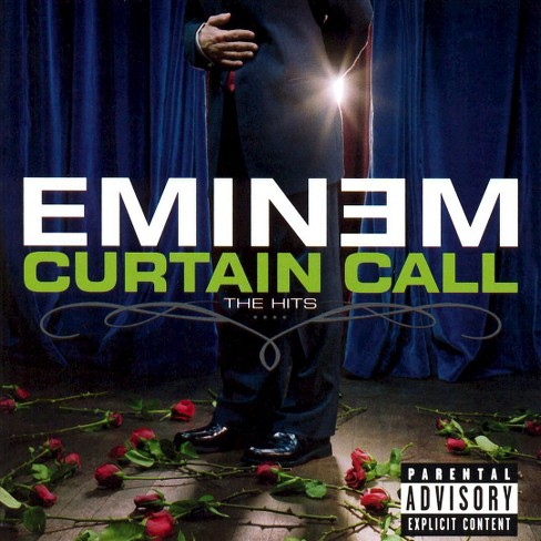 Eminem - Curtain Call: The Hits [Explicit Lyrics] (CD) - image 1 of 1