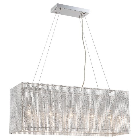 Ceiling Lights Rania Chandelier - Chrome - Lite Source - image 1 of 2
