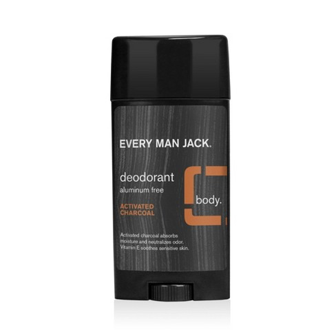 Every Man Jack Activated Charcoal Deodorant - 2.7oz - image 1 of 3