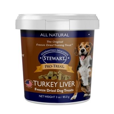 Stewart Freeze - Dried Turkey Liver Dog Treat