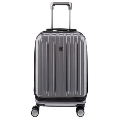 """DELSEY Paris Titanium Intl 24"""" Expandable Spinner Suitcase"""