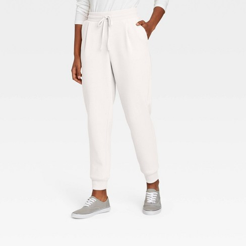 Women's High-Rise Ankle Jogger Pants - A New Day™ - image 1 of 3