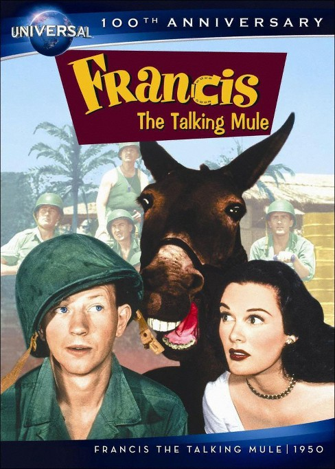 Francis The Talking Mule (DVD) - image 1 of 1