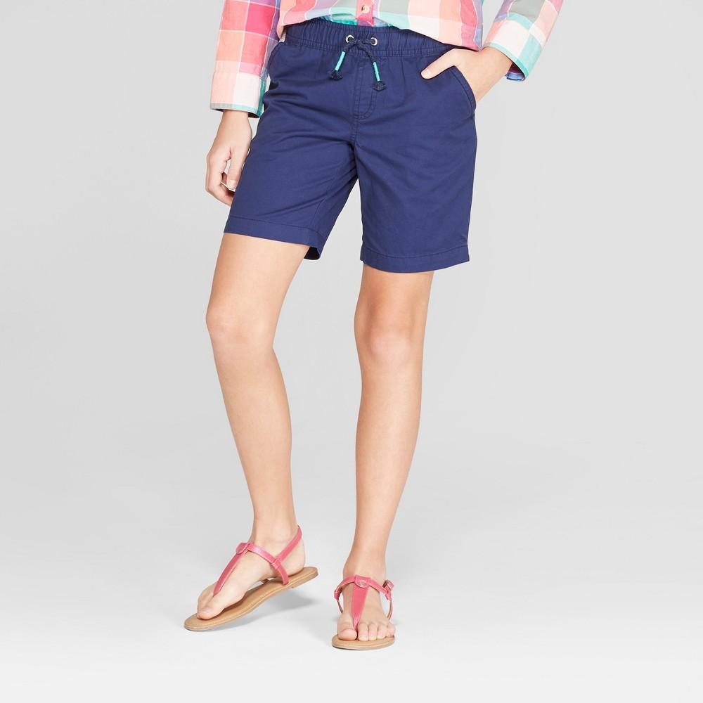 Plus Size Girls' Bermuda Shorts - Cat & Jack Navy (Blue) XL Plus