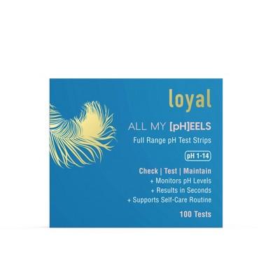 Loyal All My [pH]EELS Full Range pH Test Strips - 100ct