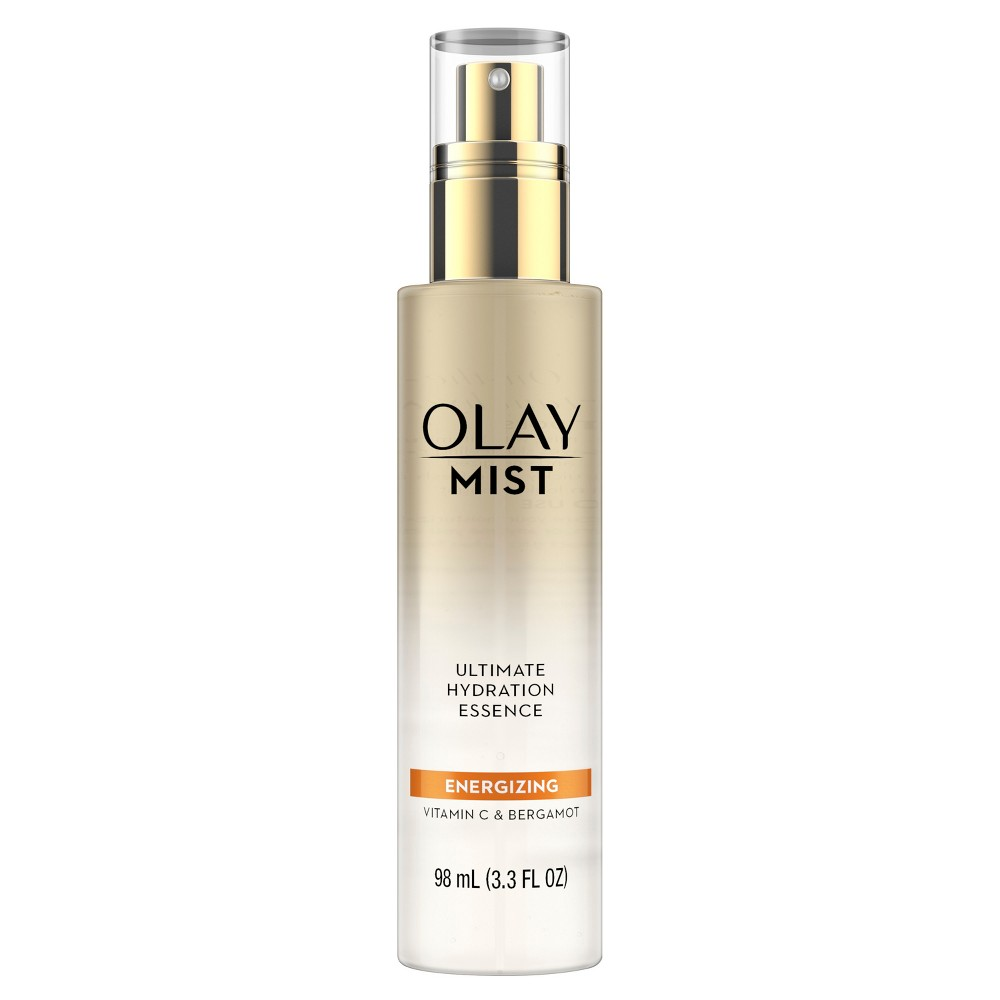 Olay Mist Ultimate Hydration Essence Energizing With Vitamin C And Bergamot Facial Moisturizer - 3.3 fl oz