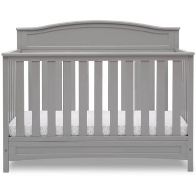 Delta Children Emery Deluxe 6-in-1 Convertible Baby Crib - Gray