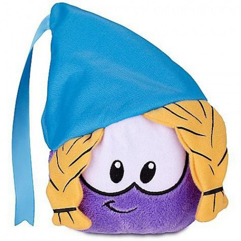 Club Penguin Series 12 Purple Puffle 4-Inch Plush [Princess with Hat] - image 1 of 1
