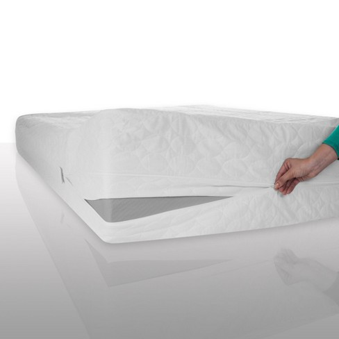 Bed Bug Dust Mite Cotton Mattress Protector - Bluestone® - image 1 of 4