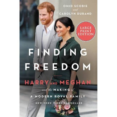 Finding Freedom - Large Print by  Omid Scobie & Carolyn Durand (Paperback)