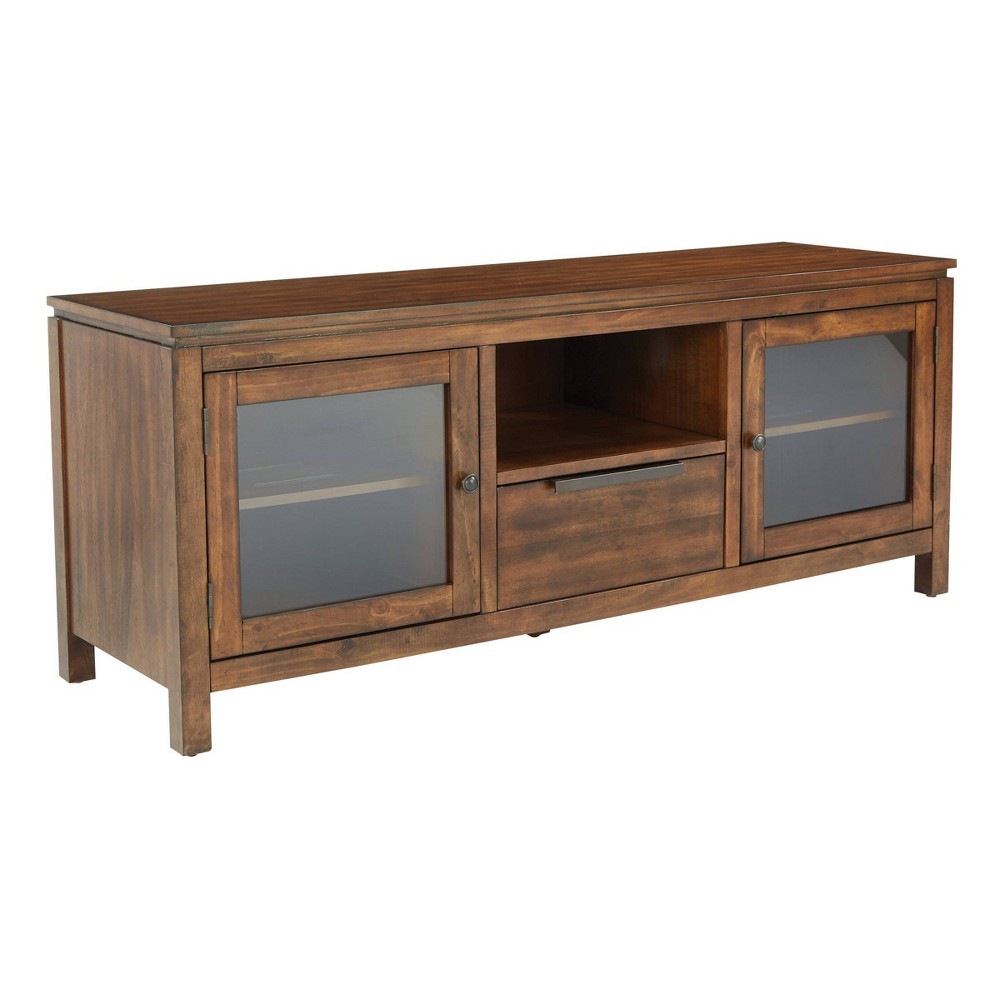 60 Vashon Console Brown - Osp Home Furnishings