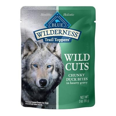 Blue Buffalo Wilderness Wild Cuts Wet Dog Food - 3oz