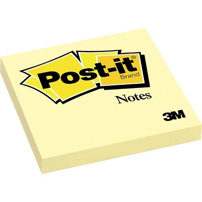 Post-it Notes 3  x 3  Canary Yellow 1 Pad 394221
