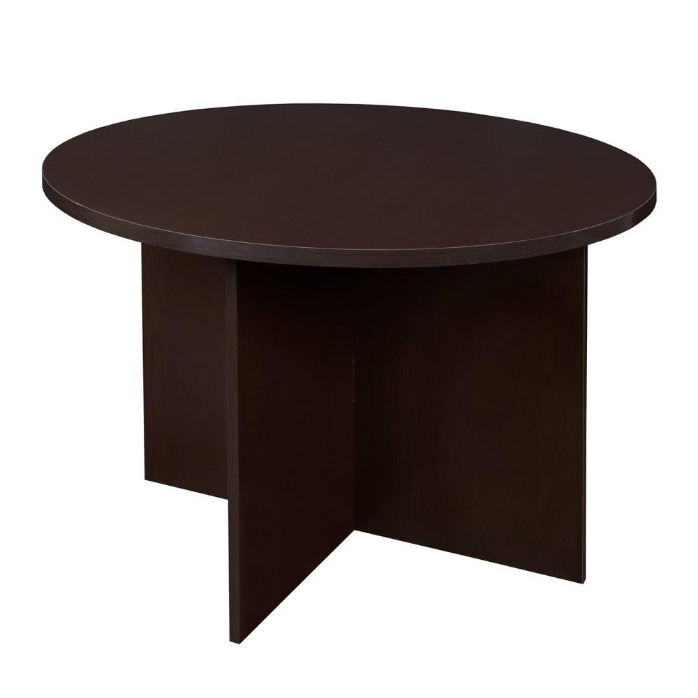 "Image of ""42"""" Lenox Round Table Truffle - Niche"""