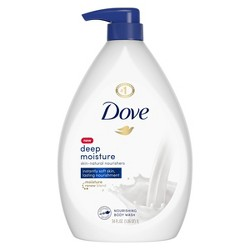 Dove Deep Moisture Nourishing Body Wash for Dry Skin - 34 fl oz