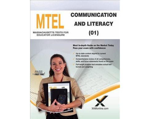 mtel communication and literacy skills (01) : teacher certification ...