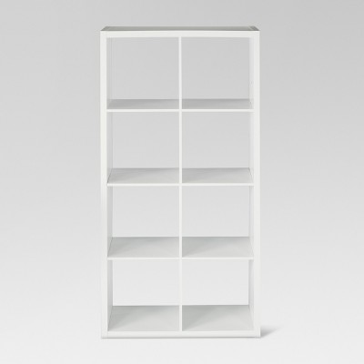 "13"" 8 Cube Organizer Shelf White - Threshold™"