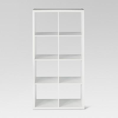 13 8 cube organizer shelf white threshold target rh target com Three White Shelf Cubicle white cubicle shelves walmart