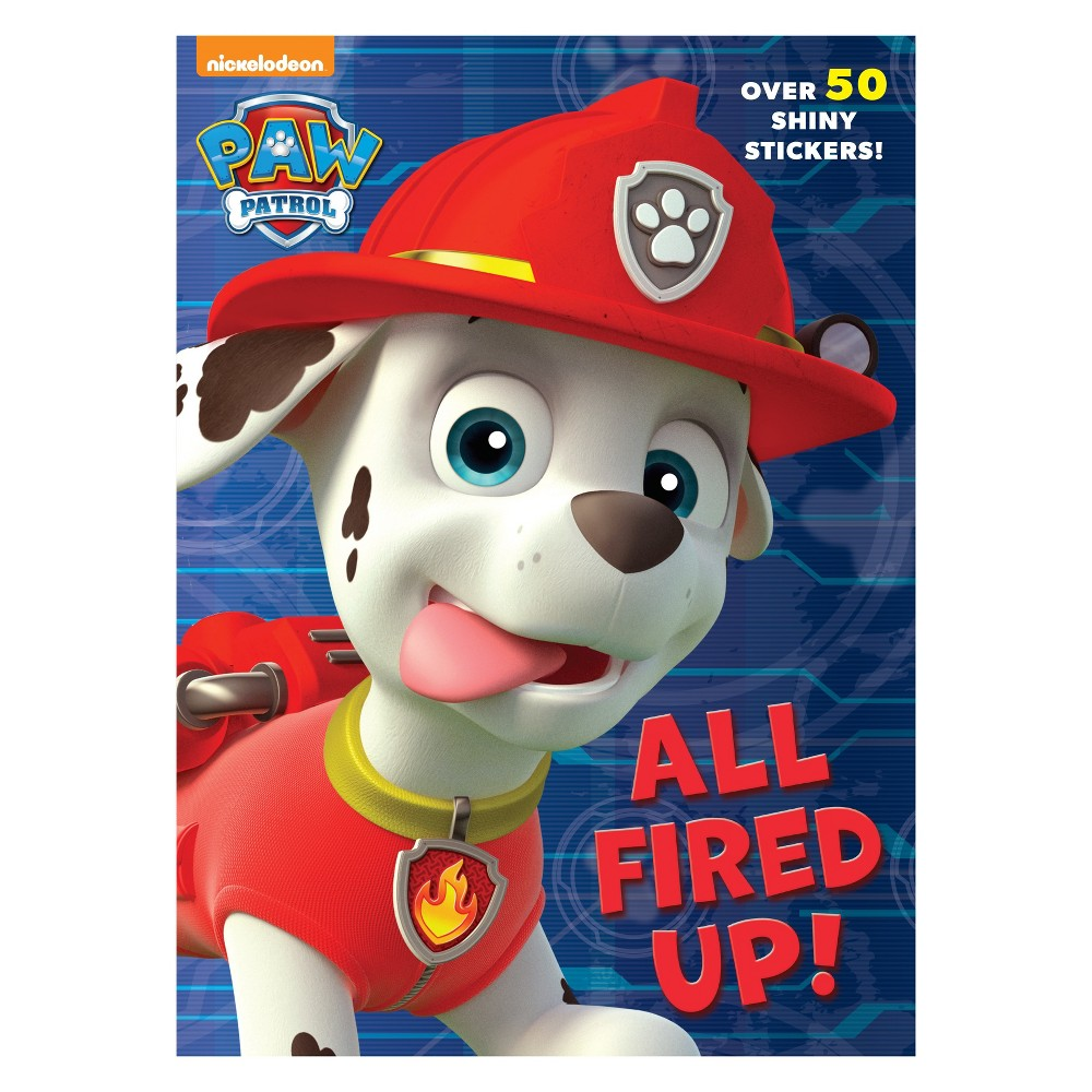 Paw Patrol All Fired Up Hologram Sticker